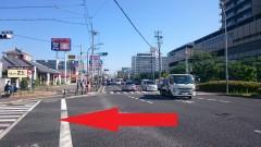 1.南側からお越しの方は、「尼崎総合医療センター前南」交差点を左折